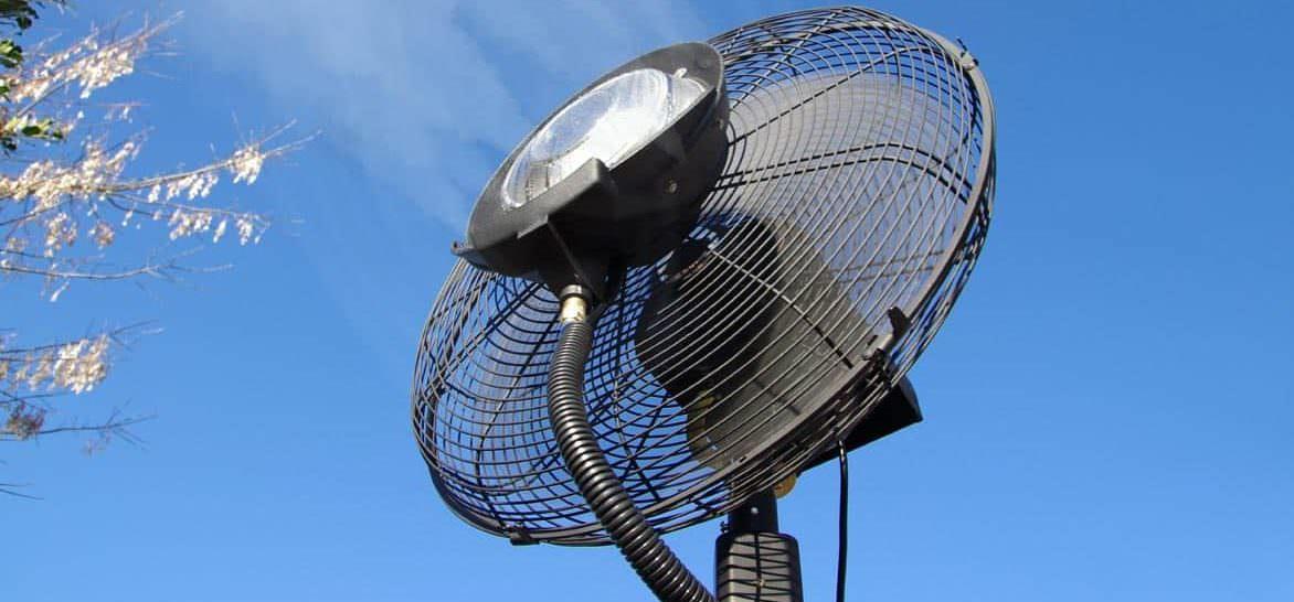 Comment bien choisir son ventilateur brumisateur d'extérieur ?